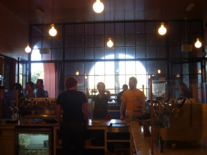 Intelligentsia in Silverlake (from the counter)