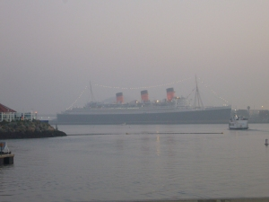 Queen Mary looming