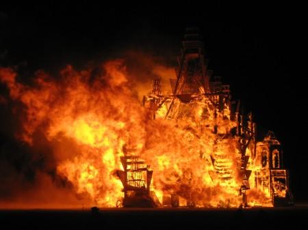 Temple Burn 2008, photo courtesy Neil B.