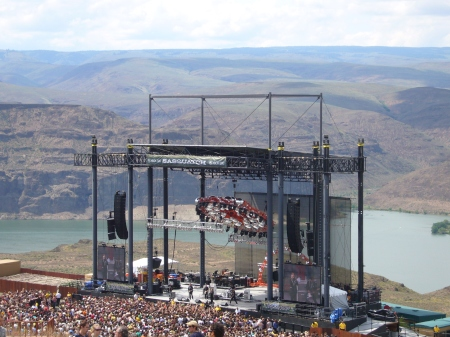 Gorge Amphitheater in George, WA