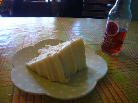 Grapefruit Cream Butter Cake at Auntie Em's Kitchen