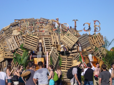 The Do Lab, made out of pallets