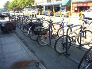One Less Car Parking Spot!