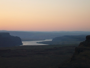 Sunset on the Gorge