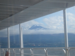 On the Ferry from the Olympic Peninsula