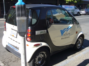 Smart Cars in Action for City Government