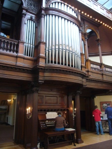 Organ in the Art Gallery of James J. Hill House
