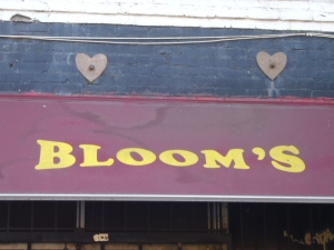 Bloom's Store Awning, and Heart Shaped Earthquake Bolts