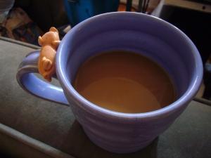 Piggy Mug, courtesy Gary Rith, potter