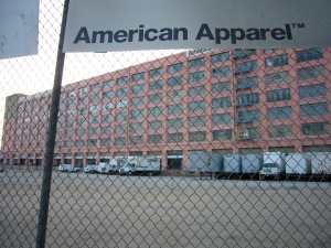 The American Apparel Factory in Downtown LA