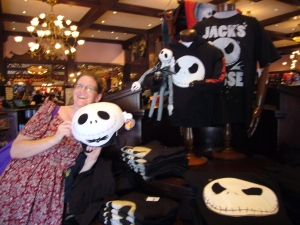 Sarah and Jack Skellington, just in time for Halloween (and Christmas!)