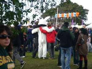 Man in a Bunny Suit